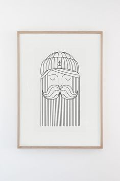 silkscreen print on 300 gr. Made by hand in Barcelona by Emil Kozak. Silk Screen Printing, Vikings, Sailor, Paper, Illustration, Cards, Handmade, Shop, Atelier