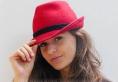 chapeau-borsalino-rouge