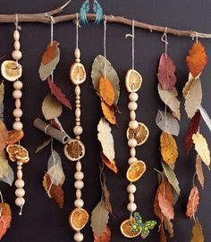 10 Adorable Autumnal DIY Projects For Your Home! Fall Preschool Art Activities: Leafy Cinnamon Stick Scented Sensory Autumn Classroom Nature Mobile.<br> Autumn is finally here - these adorable autumnal DIY craft ideas will bring the colors of fall into your home! Are you planning to make any of these? Kids Crafts, Fall Crafts For Kids, Art For Kids, Diy And Crafts, Recycled Crafts, Preschool Art Activities, Fall Preschool, Autumn Activities, Preschool Classroom