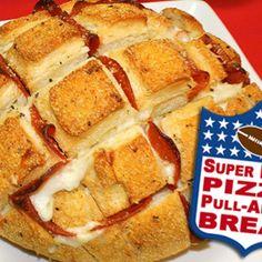 Super Bowl Recipe: Pizza Pull-Apart Bread