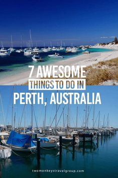Perth is the most isolated city in Australia as Adelaide is it's the closest neighbor some 2000 KM away. Here are 7 awesome things to do in Perth Australia. Brisbane, Sydney, 7 Places, Places To Travel, Travel Destinations, Vacation Places, Holiday Destinations, Top Vacations, Australia Destinations