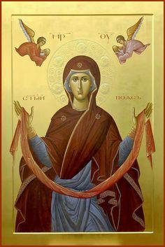 Holy Protection [Pokrov] Icon of the Theotokos