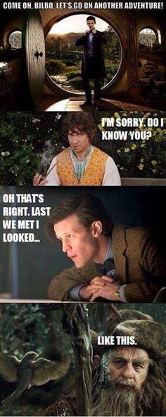 In honour of the hobbit opening in theatres today