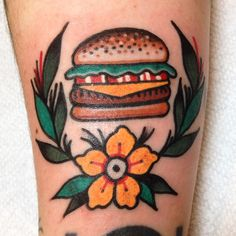 suarezism:  Lil cheeseburger for Alison! Thanks!! Hand Of Glory. Brooklyn.