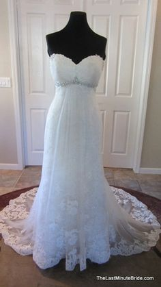 1000 images about kenneth winston bridal gown on for Last minute wedding dress