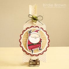 Birdie Brown Happy Santa