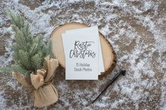 75% off!  Rustic Christmas Photos  @creativework247