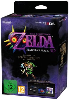 The Legend of Zelda Majora´s Mask Edición Especiales el remake del clásico de Nintendo 64 lanzado en 2000, continuación de Ocarina of Time, que la comunidad de jugadores estaba esperando.