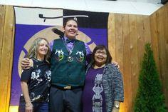 Canim Lake teen wins prestigious award - 100 Mile House Free Press