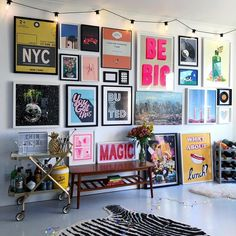 bold colorful teen hang out, teen girl room decor with light wall art, gallery . - home decoration bold colorful teen hang out, teen girl room decor with light wall art, gallery … – Bonus Room Design, Design Room, Diy Design, Design Ideas, Bright Walls, Bright Rooms, Eclectic Living Room, Eclectic Decor, Bright Living Room Decor