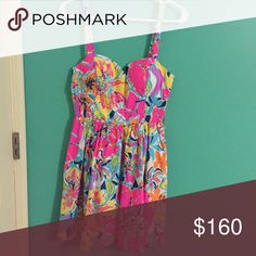 Christine Dress Christine Dress in Besame Mucho. Brand new with tags. NO TRADES Lilly Pulitzer Dresses