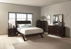 Homelegance 1313-1 Astrid Collection Color Espresso