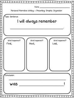This personal narrative writing project includes everything you need to teach from the beginning to the end of the unit. Students will choose a holiday they have enjoyed and write about what happened on that special day. Meets Common Core Standards.