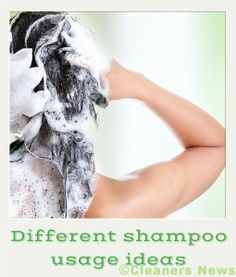 Other uses for shampoo
