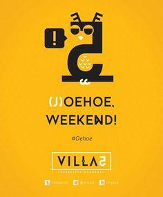 Joehoe, weekend! Fijn! #oehoe