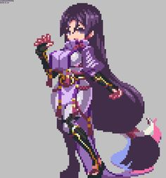 Cool Pixel Art, Anime Pixel Art, Cool Art, Anime Art, Sprites, Pixel Life, Pixel Characters, Pixel Animation, Pixel Design