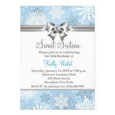 Winter Wonderland Invitation Mystery Bithday Pinterest Winter