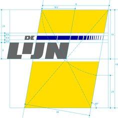 Logo De lijn - tekening van het logo