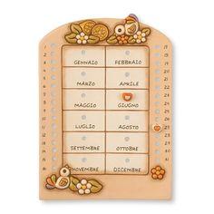 Calendario Perpetuo Da Muro - Thun