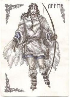 This is a site dedicated to Ullr, and this url in particular is to a poem praising him. Ullr, my favorite of the Gods. I've always been surprisingly good at Ice skating and archery, and it often snows on my May birthday I thank Ullr for such gifts. Hail Ullr!