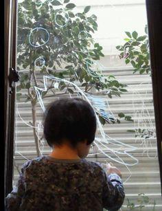 2014/11/11掲載 「あきえ」さんの2歳のお子さんがおえかきを楽しんでいます。  https://www.facebook.com/kitpas2005  #kitpas #キットパス