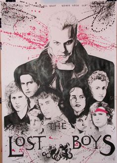 Lost Boys Movie, The Lost Boys 1987, Lost Boys Costume, Boy Costumes, Real Vampires, Vampires And Werewolves, Scary Movies, Great Movies, 80s Movies