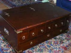 Modern Apothecary Coffee Table Coffee tables Apothecaries and