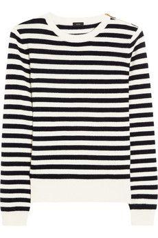 sailor striped cashmere sweater