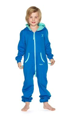 Keep your child cozy as can be in our range of childrens onesies and jumpsuits. With premium cotton and fleece, fun colors and prints, and special attention to detail, our jumpsuits are designed to give your little boy or girl ultimate comfort with attitu Jumpsuit For Kids, Little Boys, Boy Or Girl, Onesies, One Piece, Cotton, Jackets, Blue, Christmas