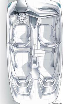 car interior design sketch, BMW vision concept car interior design , wacom digital sketch of an automotive interior, futuristic car dashboard concept design illustration, top view Car Interior Sketch, Car Interior Design, Car Interior Decor, Interior Design Sketches, Industrial Design Sketch, Car Design Sketch, Interior Concept, Car Sketch, Automotive Design