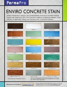Color Chart Features H And C Semi Transparent Decorative