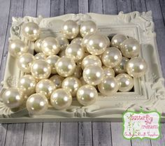 25mm HUGE Ivory - Light Beige - Acrylic Faux Pearl - Bubblegum beads - Gumball beads - chunky necklace supply - UK SELLER
