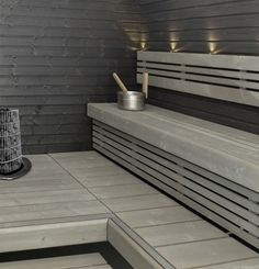 Warkop Oy Sauna Shower, Sauna Design, Finnish Sauna, Sauna Room, Spa Rooms, Saunas, Home Spa, Bathroom Interior, Kitchen Remodel