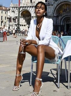 Classy Outfits, Girl Outfits, Cute Outfits, Fashion Outfits, Beautiful Black Girl, Pretty Black Girls, Bougie Black Girl, Black Girl Aesthetic, Black Girl Fashion