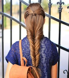 Medium Archives - Page 2 of 17 - Cute Girls Hairstyles Cute Girls Hairstyles, Top Hairstyles, Casual Hairstyles, Unique Hairstyles, Pretty Hairstyles, Amazing Hairstyles, Double Braid, Hair 2018, Simply Beautiful