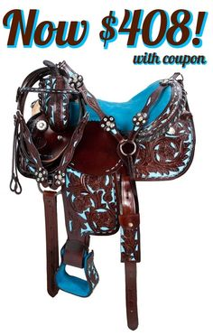 Model 9455 is our special SOCIAL15 deal of the day! Enter SOCIAL15 @ checkout to save 15% off this saddle only until 1/23/15 at 11:59 PM CST!