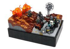 Battle of Mimban / Back to building :D Lego Moc, Lego Lego, Amazing Lego Creations, Star Wars Models, Going Insane, Lego Models, The Brethren, Cool Lego, Lego Brick