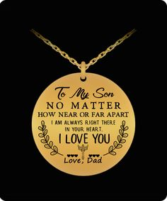 DEEPEST QUOTE Best Birthday Gift For Your Child// Children father/daughter/necklace jewelry/for/girls always remember/…loved more than you know 18K gold plated stainless steel HOT DESIGN