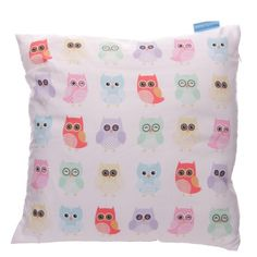Lauren Billingham Cute Owls Cushion Cover (Cover Only). Cushion cover with a cute printed owl design by Lauren Billingham. Made from machine washable polyester. Shabby Chic Cushions, Vintage Cushions, Cushion Cover Pattern, Cushion Covers, Owl Cushion, Ironing Board Covers, Printed Cushions, Owl Print, Owl Bird