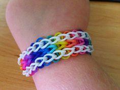 Linda´s Loomblog: Rainbow Armband