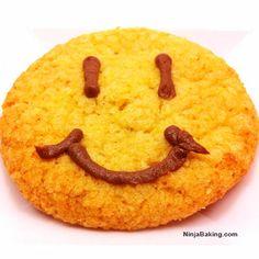 Smiley Corn Cookies | Ninja Baking