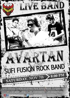 The count down has begun,, so book your tables right away as Caffe Mad House brings Avartan Band Live just for you!! ‪#‎LIveBand‬ ‪#‎Avartan‬ ‪#‎MusicLovers‬ ‪#‎Weekend‬