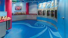 Betona Tile Installation - Chilly Spoons Yogurt Shop