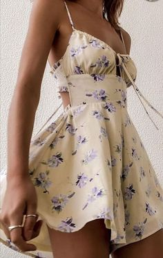 Cute Summer Outfits, Cute Casual Outfits, Spring Outfits, Casual Dresses, Short Dresses, Summer Dresses, Mode Outfits, Girly Outfits, Cute Dress Outfits