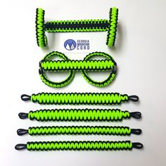 Paracord Grab Handles Roll-Bar Mount Full Set Jeep JK/JKU in Neon Green green color jeep wrangler - Green Things Green Jeep Wrangler, 2007 Jeep Wrangler, Lime Green Jeep, Neon Green, Jeep Gear, Jeep Jk, Jeep Wrangler Accessories, Jeep Accessories, Lifted Jeep Cherokee