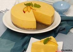 Receita de Cheesecake de manga. Descubra como cozinhar Cheesecake de manga de maneira prática e deliciosa com a Teleculinária!