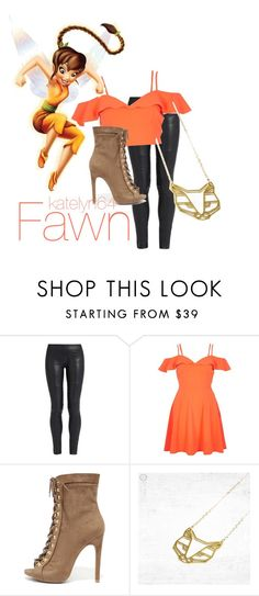"""""""Fawn"""" by katelyn64 on Polyvore featuring The Row, River Island, Disney and Wild Diva"""