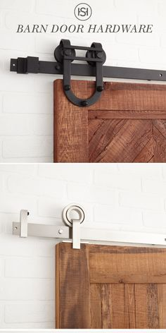 Shop steel barn door hardware for your bathroom and kitchen. All styles have a lifetime warranty and will ship to your home for free. Home Renovation, Home Remodeling, Steel Barns, Ikea Storage, Wood Storage, Barn Door Hardware, Barn Doors, Sliding Doors, Home Projects