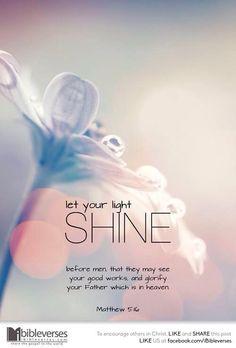 Facebook : Matthew 5:16