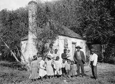 after Emancipation... Savannah, Georgia in 1907.